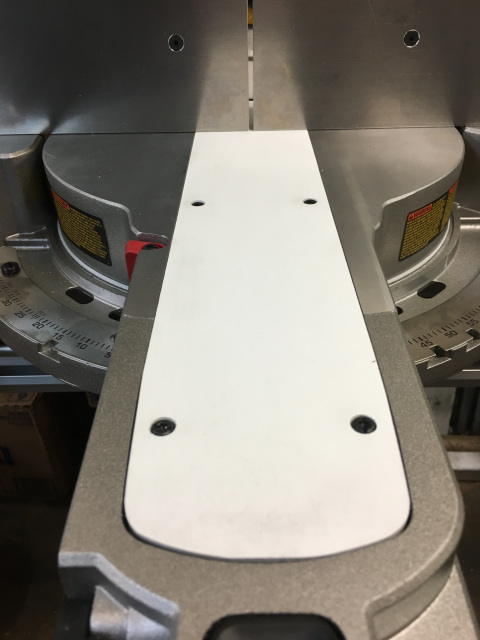 Zero Clearance Insert For Dewalt Slider Miter Saws